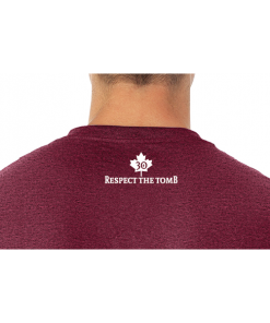 MEN'S T-SHIRT | GTTC DRI-POWER ACTIVE | 29R Vintage Maroon Close