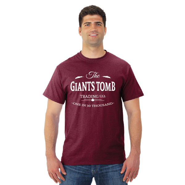 Men's T-Shirt | Dri-Power | Heather Maroon | Logo: The GTTC