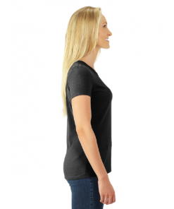 Women's T-Shirt | Dri-Power | Black | Logo: The G.T.T.C. - Side