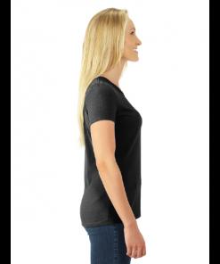 Women's T-Shirt | Dri-Power | Black | Logo: The G.T.T.C. - Side