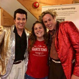 With Elvis & Jerry Lee Lewis @ Kings Wharf Theatre, Penetanguishene