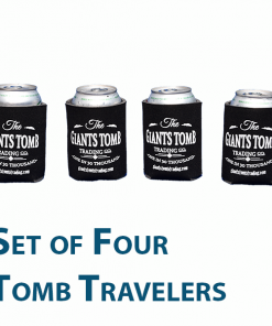 Can Cooler | Tomb Traveler | Giants Tomb Trading Co -Set of 4