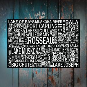 Muskoka - Lake Rosseau - Giants Tomb Trading Co
