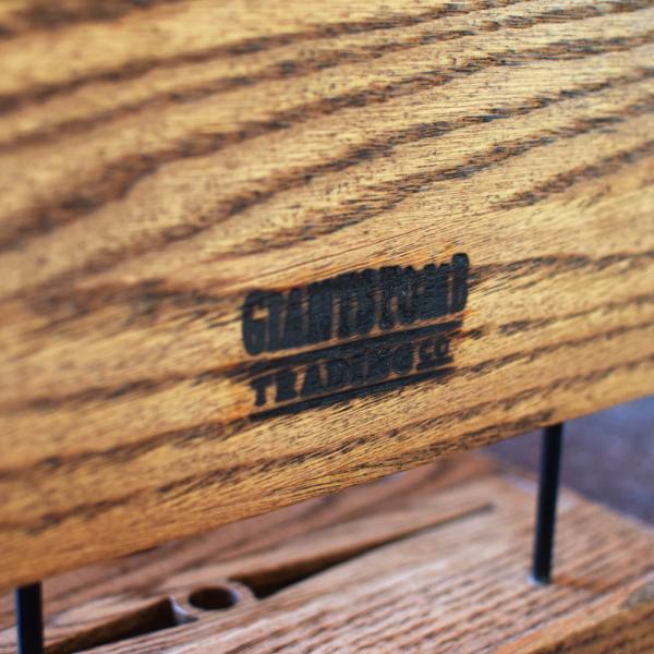 Footprint Candle Incense Holder Back Logo