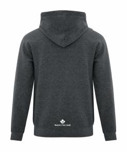 Women's Hoodie | Men's Hoodie | GTTC Active Blend -- DHGray - Back
