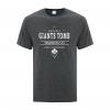 Men's T-Shirt | Active Blend | Dark Heather | Logo: Original GTTC - Front
