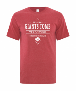 Men's T-Shirt | GTTC Active Blend | H_Red Front Original