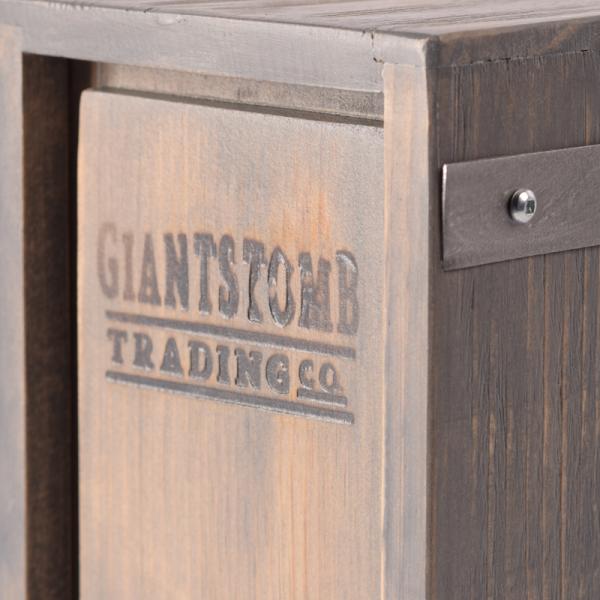 Boxed Wine Cover Driftwood Vitis Brand