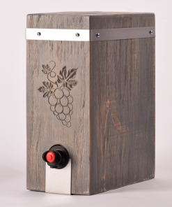 Boxed Wine Cover | Rectangle | Driftwood | Giants Tomb Trading Co