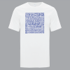 Men's T-Shirt | Active Blend | White | Logo: Georgian Bay Destinations - Front