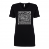 Women's V-Neck | Black | Logo: Georgian Bay Destinations Front